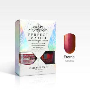 🎆TRENDING***LECHAT Perfect Match METALLUX CHROME GEL+LAC DUO Color-Shift Effect