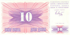 Bosnia and Herzegovina 10 Dinara 1992 Checkout fresh P.10a