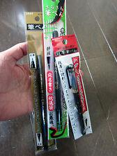 3 Japanese CALLIGRAPHY Felt Tip Pens / 4 tips! / Nice