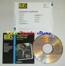 CD LIGHTNIN' HOPKINS Texas blues BLUES COLLECTION 1993 DeAGOSTINI mc lp dvd vhs