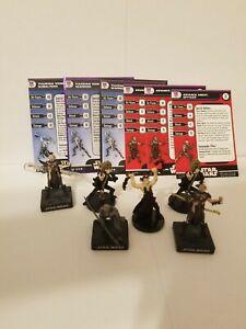 Star Wars Miniatures Yuuzhan Vong Subaltern & Warrior Yuuzhan Vong Team Builder