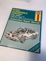 Haynes Repair Manual Buick, Oldsmobile & Pontiac Full Size Models, 1985-2000