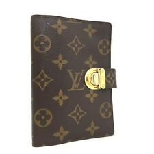 100% Authentic Louis Vuitton Monogram Agenda Koala Notebook Cover / 2hAHF