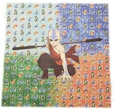 "Avatar ""The Last Air Bender"" Blotter Art Prints Psychedelic Perforated Art Print"