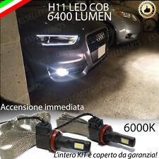 KIT LED AUDI Q3 LAMPADE H11 FENDINEBBIA CANBUS 6400 LUMEN 6000K NO AVARIA