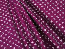 Robert Kaufman Blueberry Park AWI-15752-363 CERISE Baumwoll Stoff • 0,5m