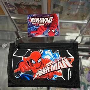 MARVEL Ultimate Spider-Man Children boy's Tri Fold Wallet - Black