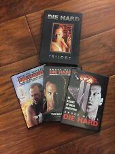 Die Hard Trilogy-1999 3-Disc Set-Die Hard 1, 2 & 3-MINT-FREE SHIPPING!