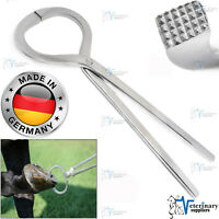 "HOOF Testers Testing FORCEPS 13"" Stainless Steel Farriers Equine Equipments CE"