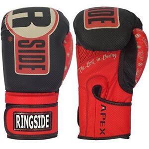 Ringside Boxing Apex Fitness Bag Gloves Kickboxing Muay Thai Men's Women's