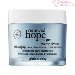 Philosophy Renewed Hope In A Jar Water Cream 2oz / 60ml New In Box