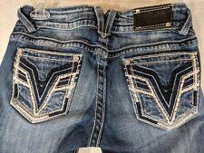 VIGOSS Womens The Chelsea Capri Crop Jeans Tag Size 3/4 Medium Wash
