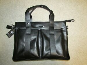 Montblanc Meisterstuck Bag  Briefcase Black Leather New