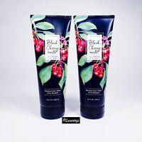 2 Bath & Body Works Black Cherry Merlot Fragrant Moisturizing Wash for Body NEW