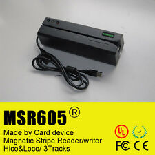 MSR605 magnetic stripe credit card reader writer encoder swipe magstripe MSR206