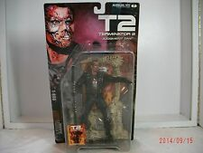 Movie Maniacs TERMINATOR 2 Judgement Day T-800 Action Figure McFarlane Toys MISB