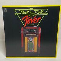 K-Tel Presents Rock 'N' Roll Fever Volume I: Vinyl LP 1982 Compilation (Rock Pop