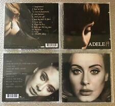 ADELE,19 AND 25,ALBUMS,2008 & 2015 CDs,IN EXCELLENT CONDITION ,23 FAB TRACKS.