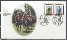 Canada Scott 1876a FDC - Army Regiments