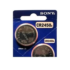 Sony CR2450 Lithium Cell Button Battery (1 Piece)