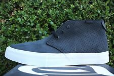 VANS CHUKKA DECON RHYME SYNDICATE SZ 7 ICE T BLACK PERFORATED VN 0VIMAN5