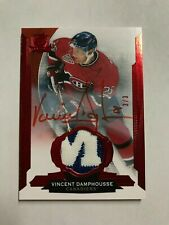 2014-15 The Cup Red #48 Vincent Damphousse TAG AU