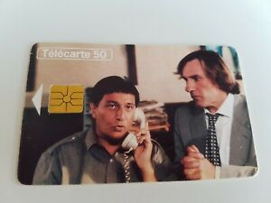 Télécarte - TELEPHONE ET CINEMA - Depardieu et Clavier  (A8113)