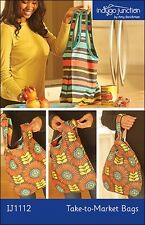 INDYGO JUNCTION- NEW Take-to-Market Bags- 2 Styles- IJ1112 Sewing Pattern