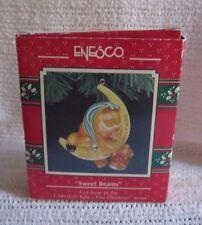 "Vintage Treasury of Christmas GARFIELD ""SWEET BEAMS"" Christmas Ornament"