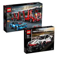 LEGO Technic Porsche 911 RSR & Car Transporter Truck Twin Pack 42096 & 42098