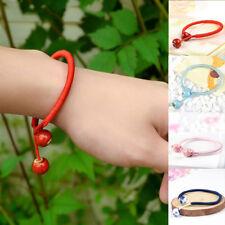 Lucky Bracelets Bead Red String Ceramic Woven Bracelets Charm Handmade Jewelry #
