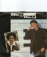Paul McCartney Ebony And Ivory GER 7in 1982 Stevie Wonder Beatles Wings