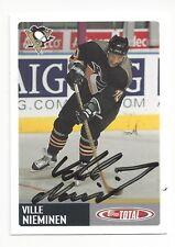 2002-03 Topps Total #263 Ville Nieminen (autographed)