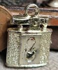 Vintage plastic gold EPPY CIGARETTE LIGHTER gumball charm prize jewelry