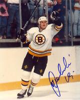 Mariusz Czerkawski Boston Bruins Autographed 8 x 10 Full Color Photo NM/Mint!
