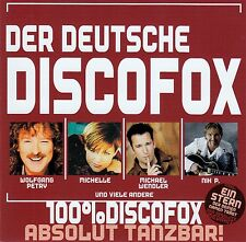 DER DEUTSCHE DISCOFOX - ABSOLUT TANZBAR! / CD (SONY MUSIC 2008) - TOP-ZUSTAND