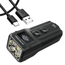Nitecore T4K 4000 Lumen Super Bright Keychain EDC Flashlight