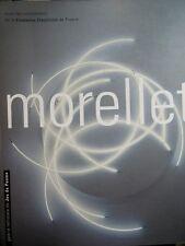 Morellet Exposition Galerie Jeu de paume 2000 Sculptures Lumières peintures