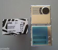 URMET DOMUS 1083/77 Posto esterno Sinthesi 2 telecamera 2 voice 2 fili (1083/72)