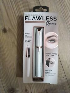 JML Finishing Touch Flawless Brows Pain Free Battery New Jml Flawless Brows