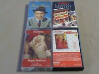 Lot of 4 Cassette Tapes Frank Sinatra Happy Holidays vol 20 26 and 27