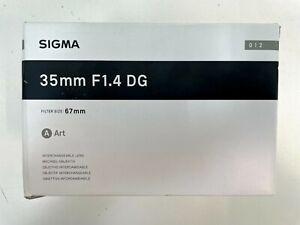Sigma 35mm f/1.4 DG HSM Art Lens for Sony E-Mount Cameras