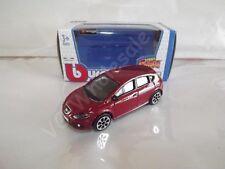 SEAT LEON CUPRA Die Cast Metal Model Car Scale 1:43 Burago Collectable New