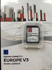 SD Nissan GPS Connect 3 Europe 2018 carte neuve et d'origine