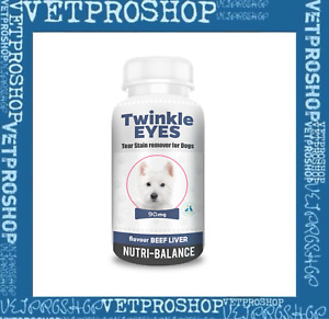 TWINKLE EYES Tear Stain Remover For Dogs - BEEF LIVER FLAVOUR -  90g