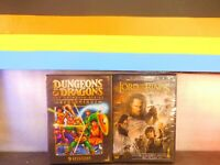 Lot of Two Dungeons Dragons: Series / The Return of the King  DVD New Sealed