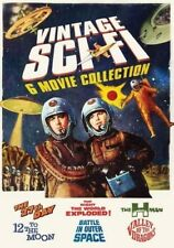 Vintage Sci-Fi: 6 Movie Collection [New DVD] 2 Pack