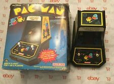 Pac-Man (Official Tabletop Arcade, 1981) Coleco Complete With Box by Midway