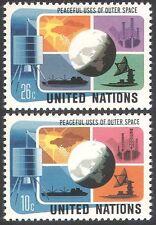 Nations Unies (NY) 1975 Space/Communications/SATELLITE/navire/Météo/Météorologie 2 V (n41723)