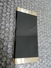 Mint Samsung Galaxy S6 Edge Plus G928T G928A GSM LCD  Screen Gold + Frame